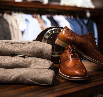 Konserwacja skórzanych butów